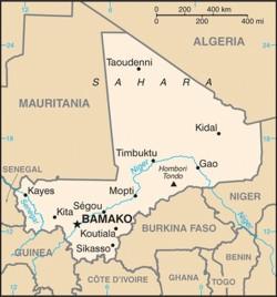 mappa Mali
